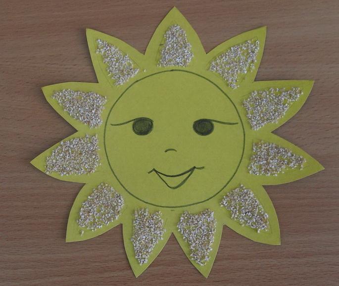 Картинки солнце своими руками, воскресение