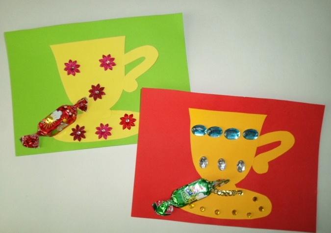 открытки и подарки ко дню матери средняя группа