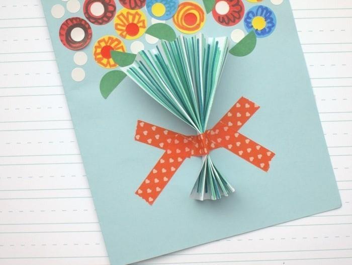 Как сделать открытку из бумаги своими руками для мамы, днем рождения тренеру