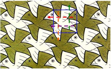 рисунок паркета из геометрических фигур