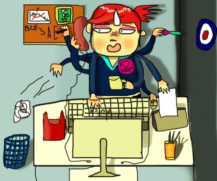 Смешные картинки про трудоголика
