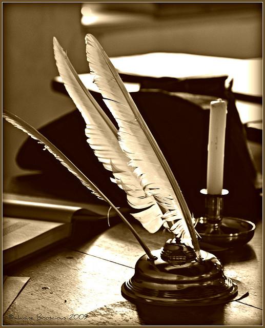 завершение картинка гусиные перья которые в то время использовали для письма прокат треноги для