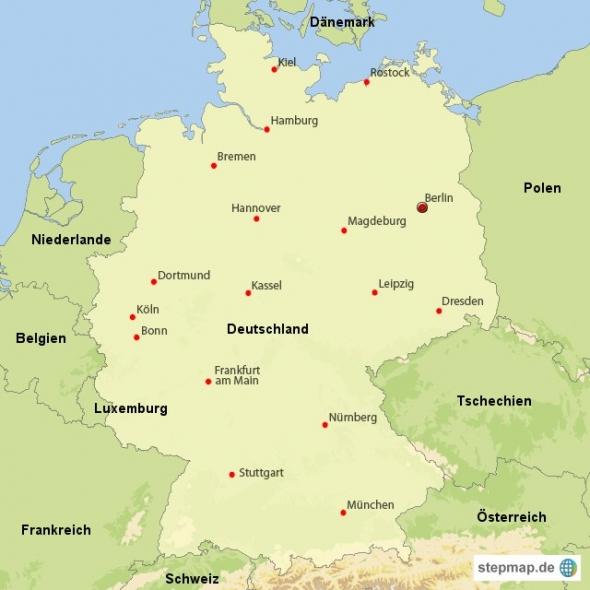 Тест по страноведению германии