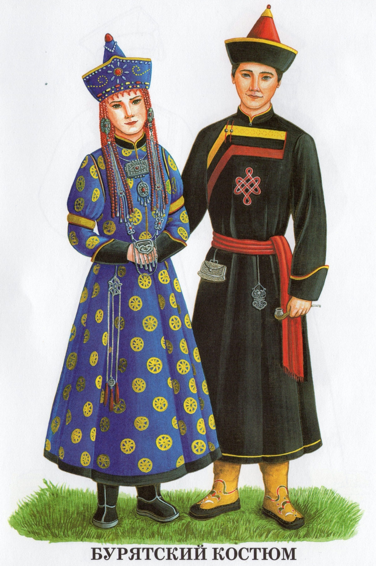 картинка национальные костюмы россии они