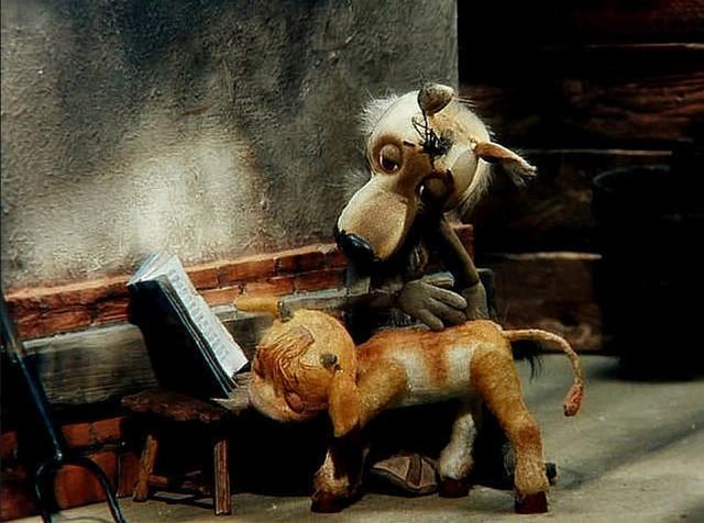 Картинки из мультика волк и теленок с надписями и юмором