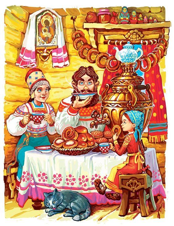 Знакомство домовенка с русскими народными традициями