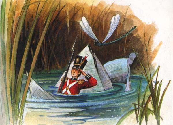 иллюстрации к сказке о стойком оловянном солдатике