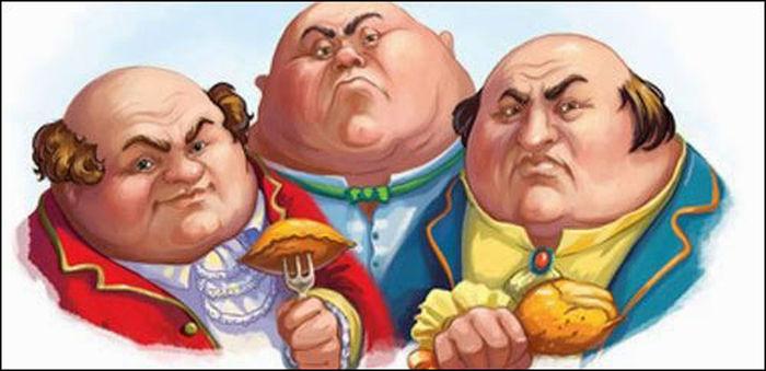 Картинки три толстяка
