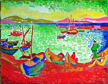 EARTA.ru Картины Наброски Зарисовки image_5b7049f89030b Картины маслом. Стили в живописи. Фовизм Масляная живопись