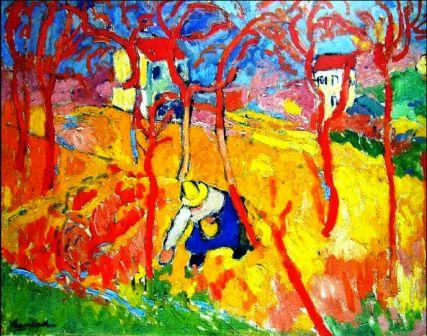 EARTA.ru Картины Наброски Зарисовки image_5b704ce37af65 Картины маслом. Стили в живописи. Фовизм Масляная живопись