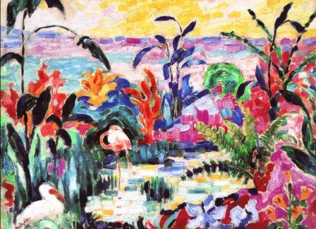 EARTA.ru Картины Наброски Зарисовки image_5b704d0027f98 Картины маслом. Стили в живописи. Фовизм Масляная живопись
