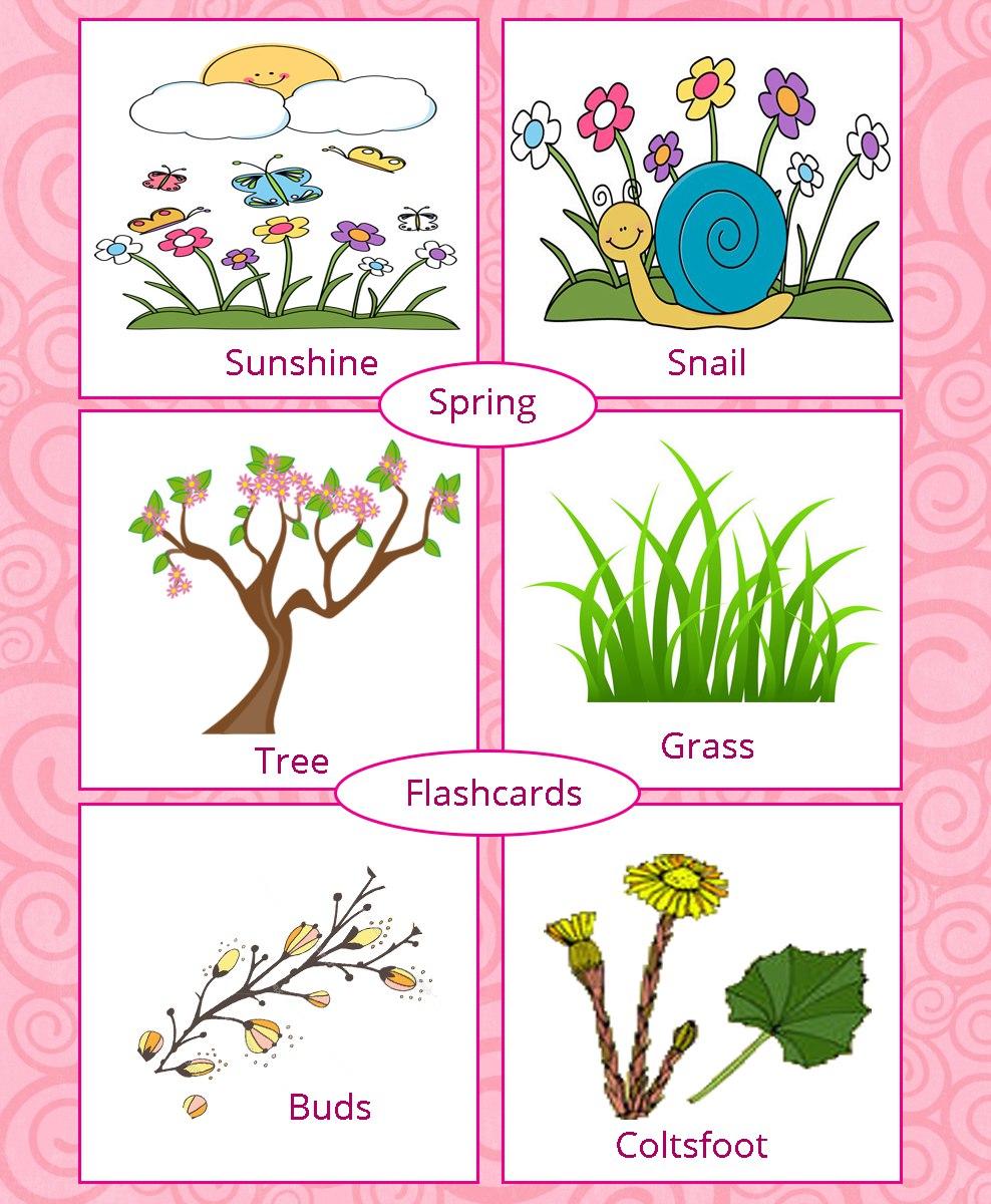 Весна на английском картинки