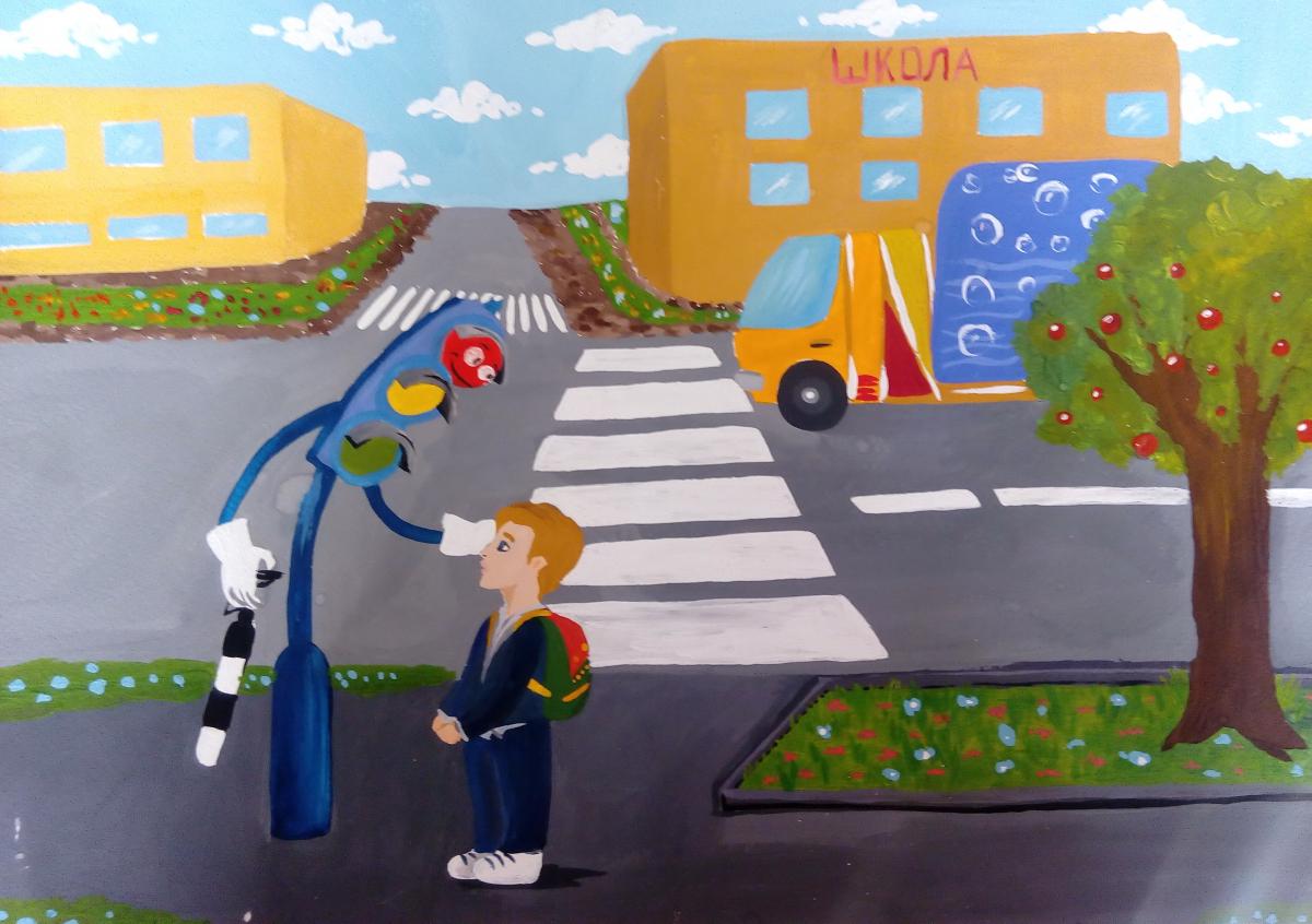 Обложку одноклассниках, картинки на тему дорожное движение для детей 7 лет