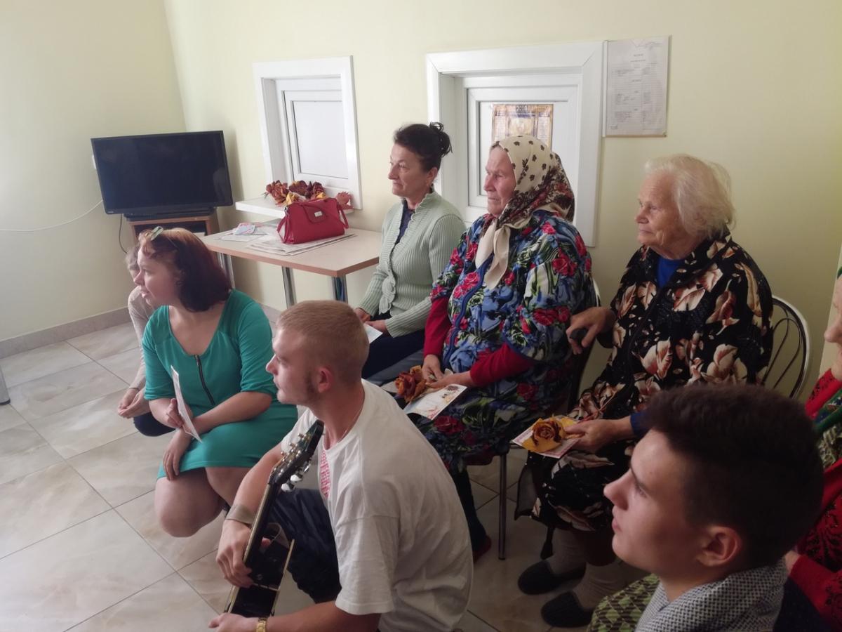 Сценарий к дню пожилого человека в доме интернате пансионатов для пожилых добрый дом